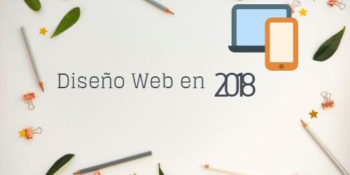 como sera diseño web 2018