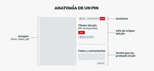 anatomía de un pin